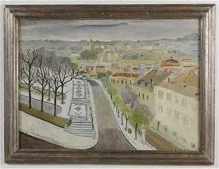 CARLOS BOTELHO Panoramica de Lisboa. .