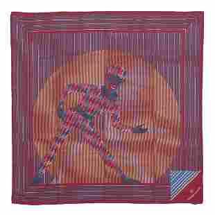 NAZARENO GABRIELLI Silk foulard.