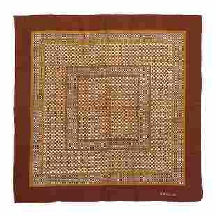 GIANNI VERSACE Silk scarf.
