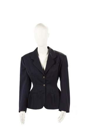 JEAN-PAUL GAULTIER Blue jacket inspired by Christian
