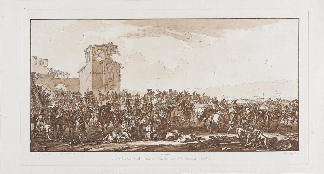 608: Seguito di un esercito.