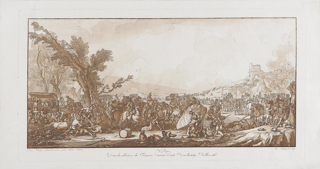 609: Stazionamento di un esercito.