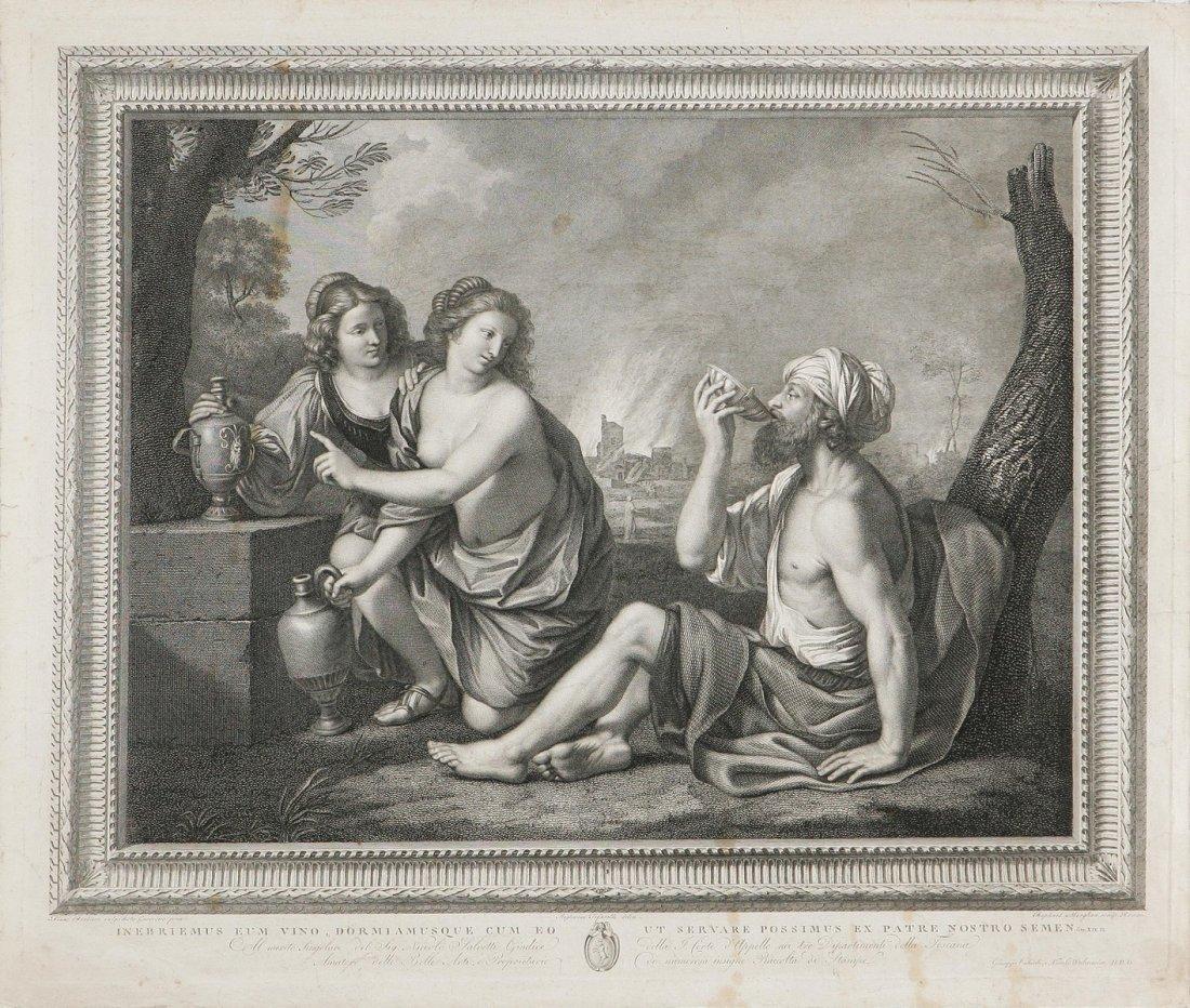 611: Lot e le sue figlie.