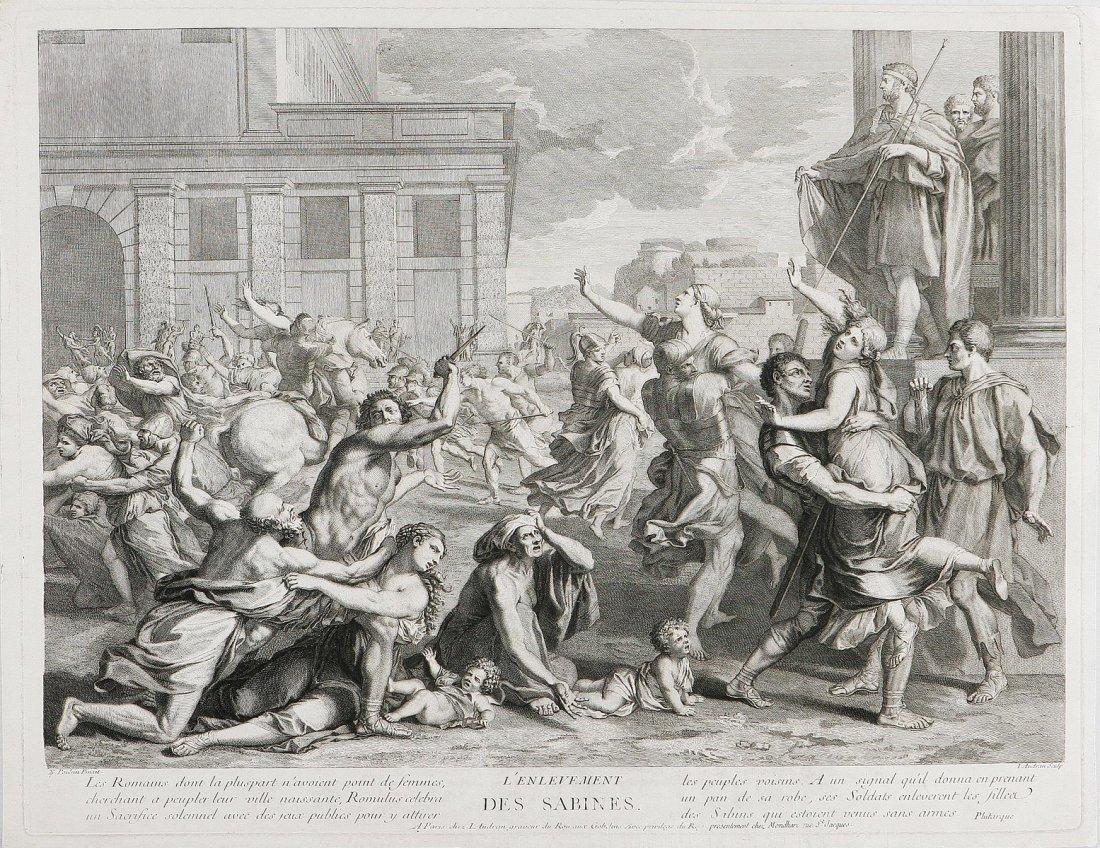 614: Il ratto delle sabine.