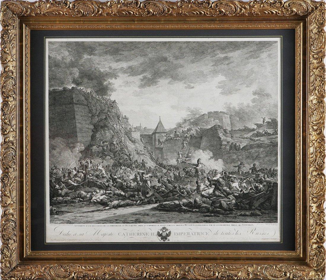 615: L'assedio alla fortezza d'Oczakow.