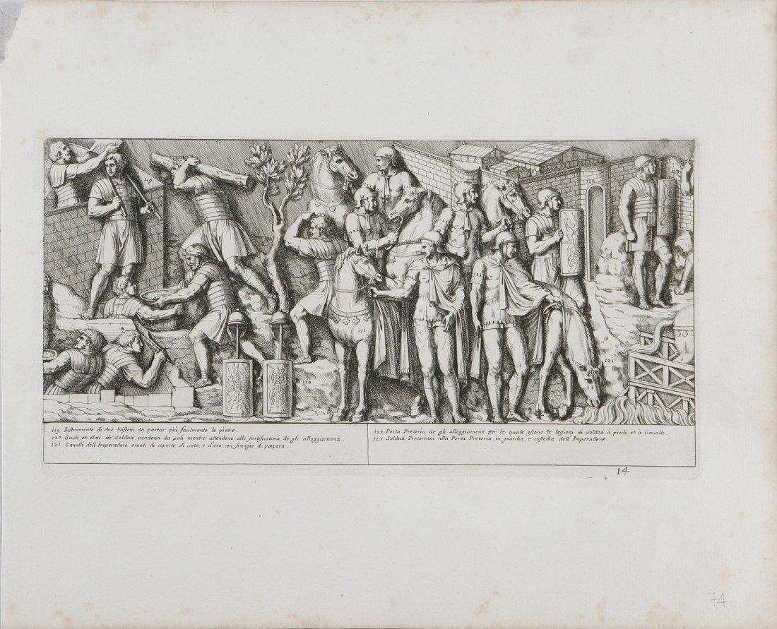 680: Soldati romani alla porta pretoria.