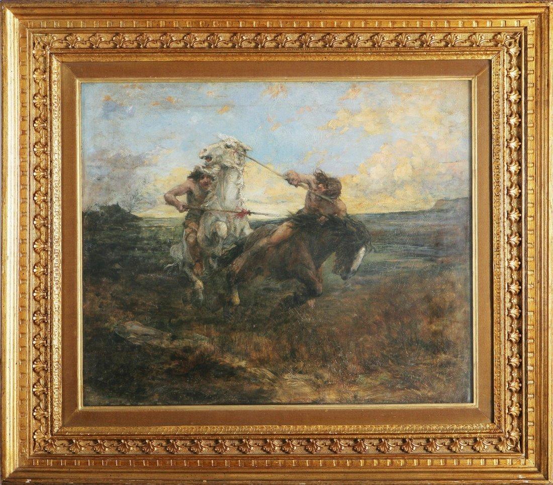 2: EDWARD MATTHEW HALE - Coppia di cavalieri.