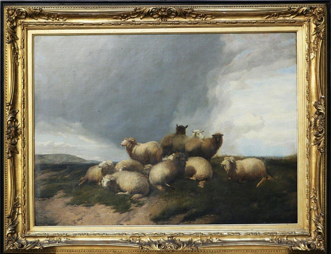 24: THOMAS SIDNEY COOPER - Gregge in un paesaggio.