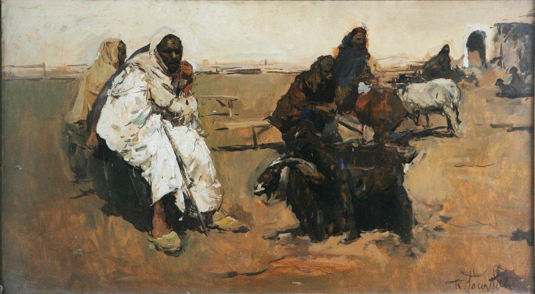 46: ROMUALDO LOCATELLI - Uomoni del deserto.