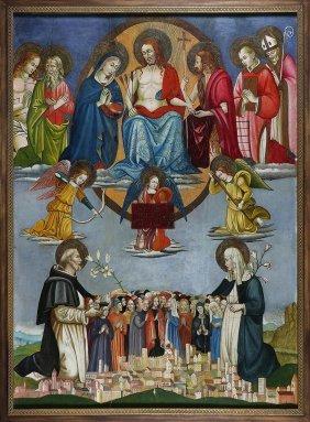 70: ARTISTA DEGLI INIZI DEL XIX SECOLO - Cristo attorni