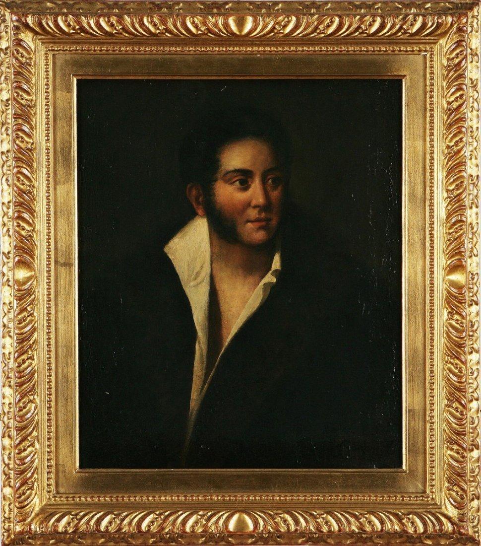 116: FILIPPO PALIZZI - Ritratto di gentiluomo,