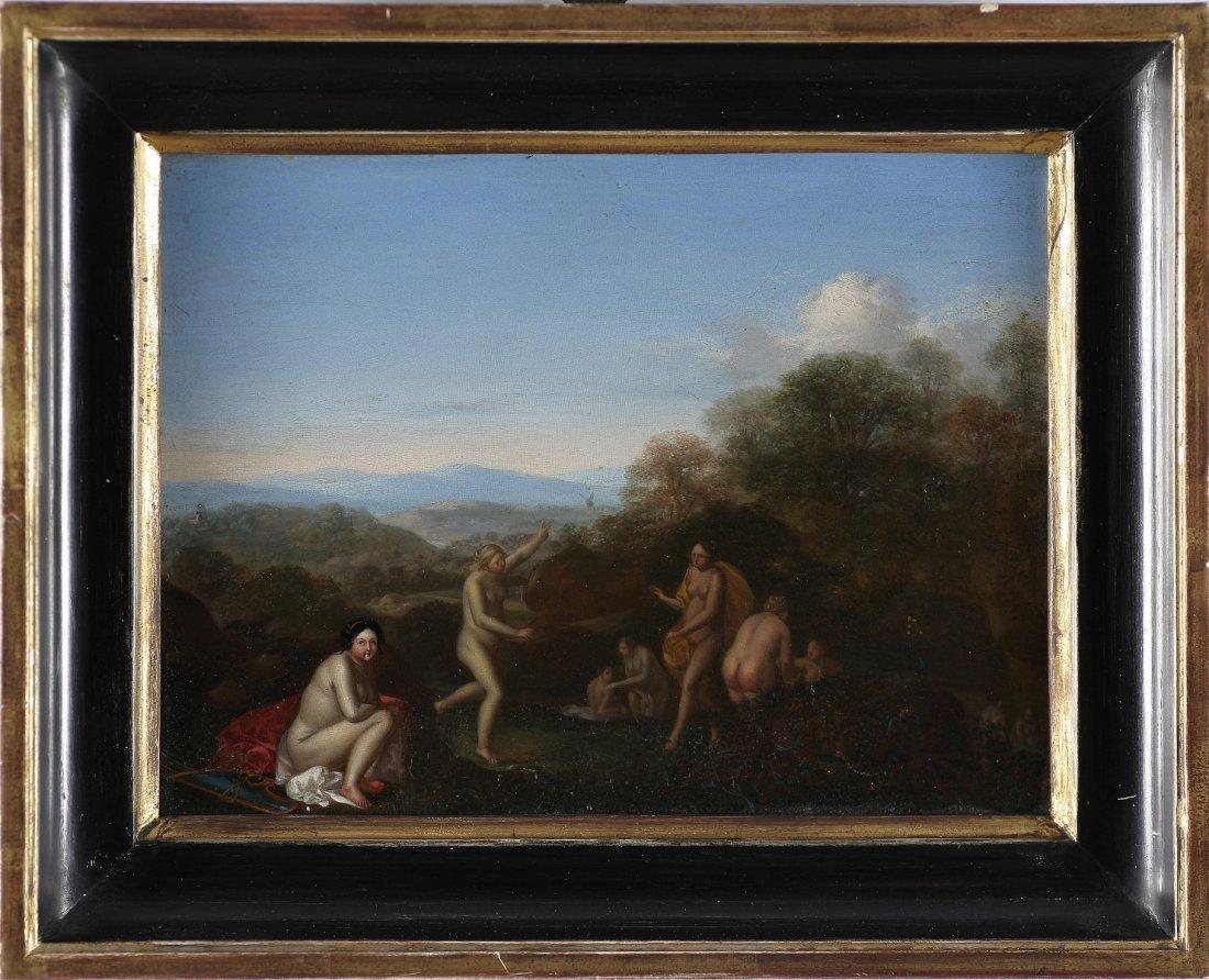 117: DIRCK VAN DER LISSE - Diana con le bagnanti.