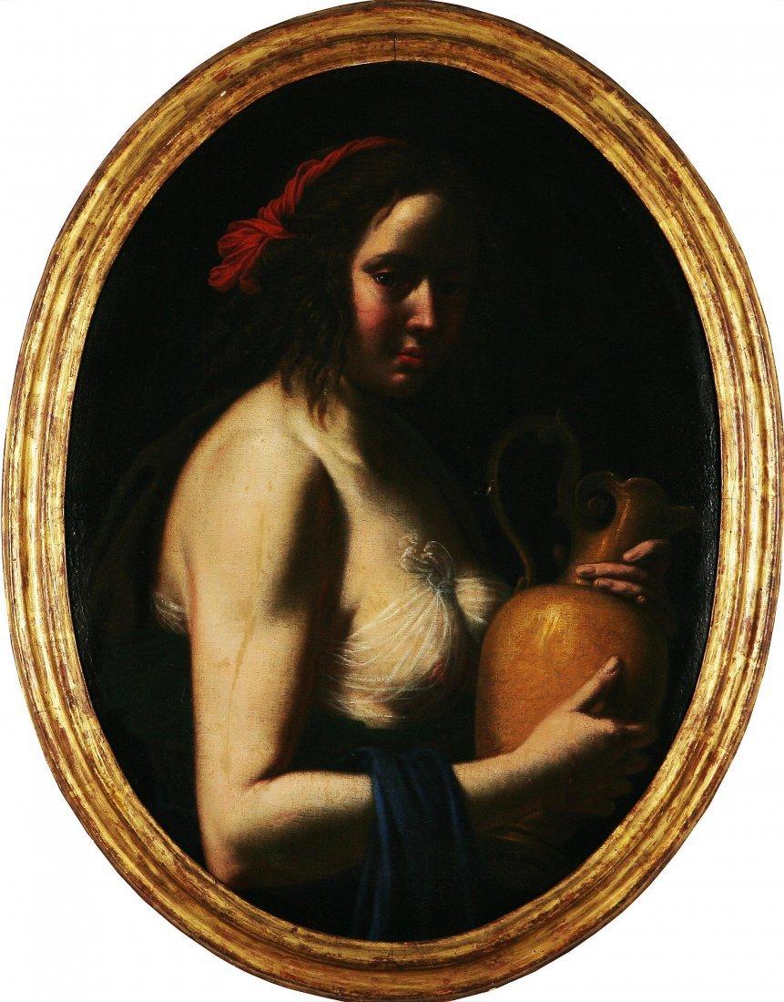 124: GIOVANNI MARTINELLI - Donna con brocca.