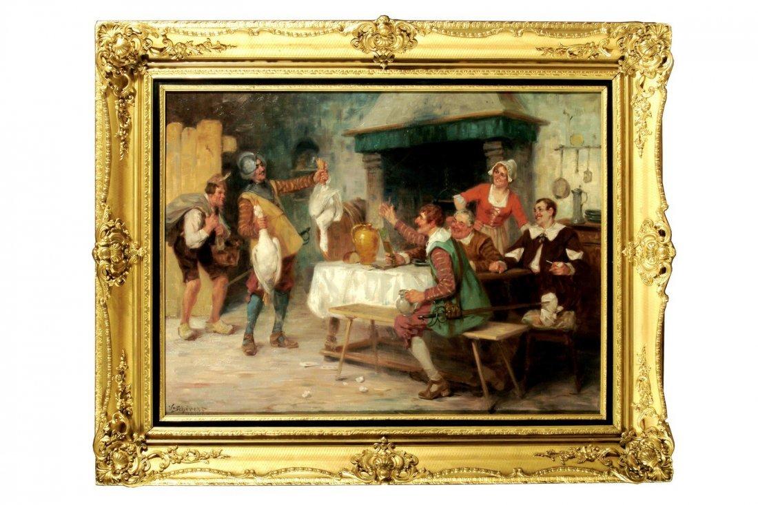 130: VICTOR SCHIVERT - L'arrivo dei viveri.