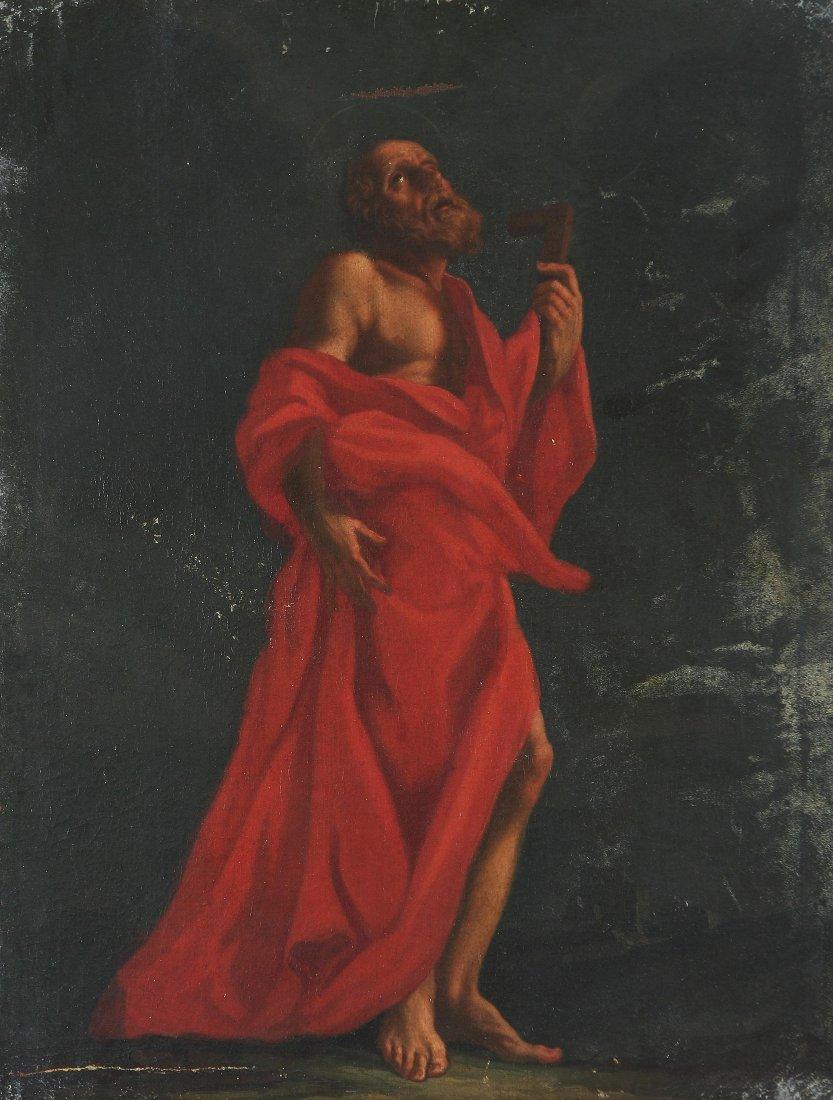 132: LAZZARO BALDI - I quattro evangelisti: San Marco,
