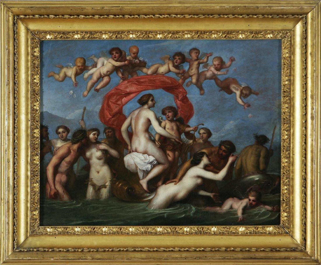 136: GEROLAMO TROPPA - Il trionfo di Galatea,