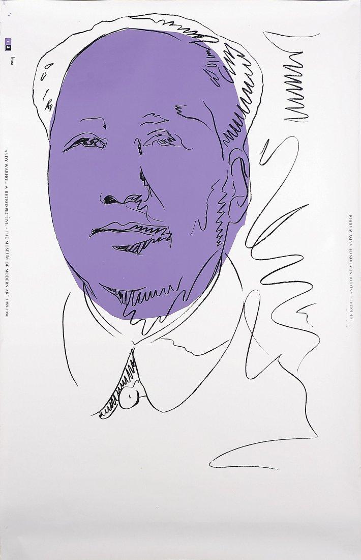 1: ANDY WARHOL - Mao wallpaper