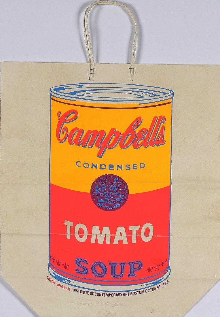 2: ANDY WARHOL - Shopping bag