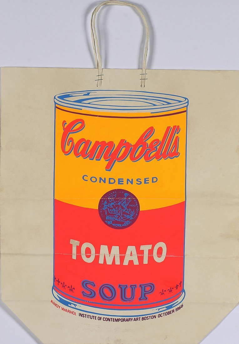 2: ANDY WARHOL - Shopping bag