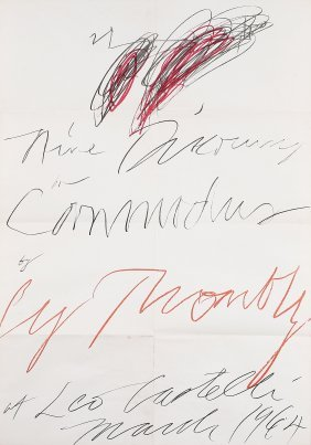 8: CY TWOMBLY - Senza titolo