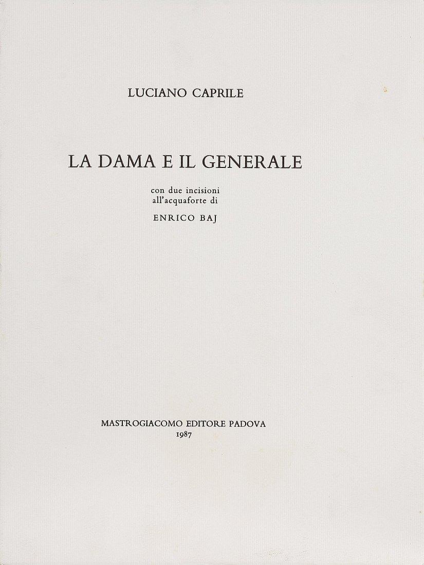 10: ENRICO BAJ - La dama e il generale