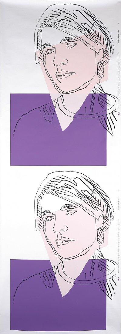 17: ANDY WARHOL - Self portrait (doppio)