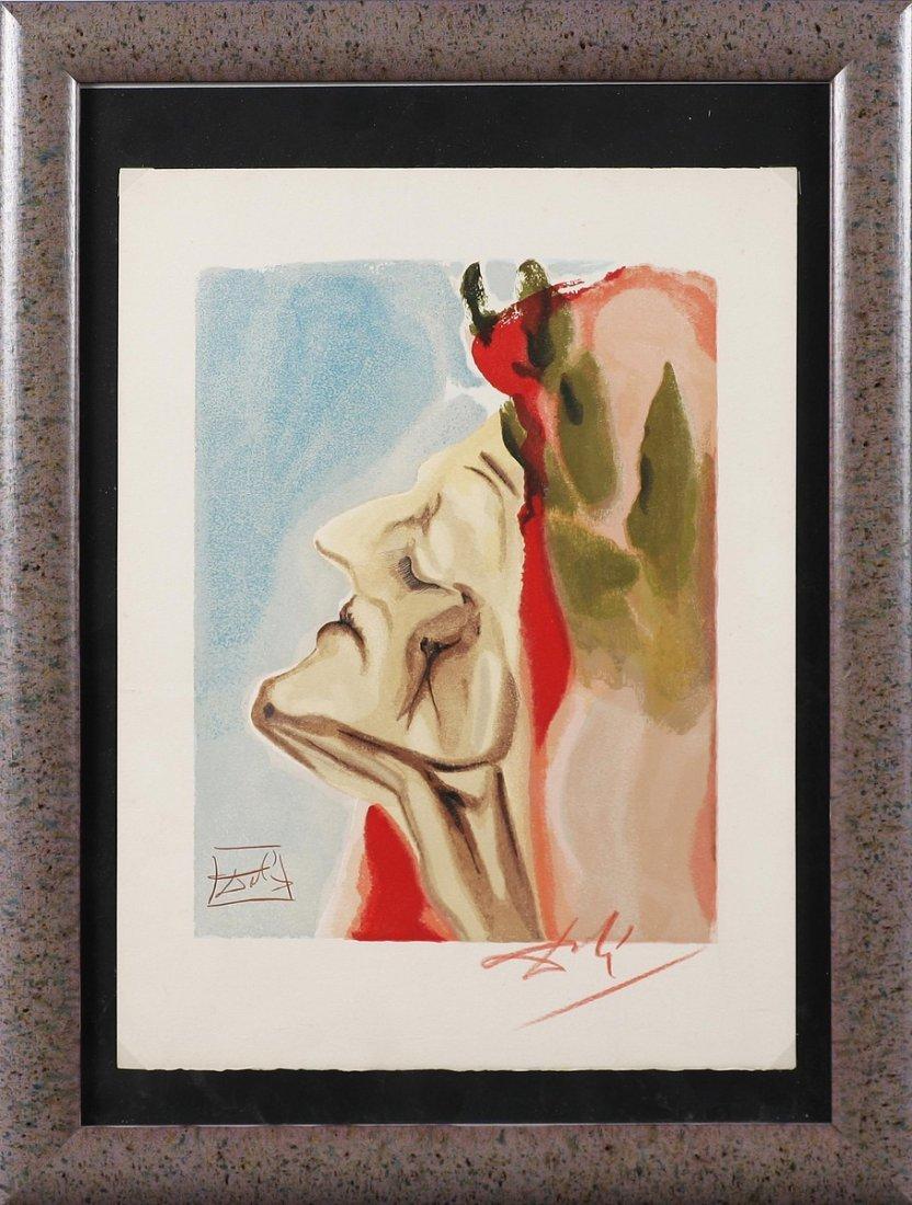 DALI' SALVADOR (1904 - 1989) - Dante.
