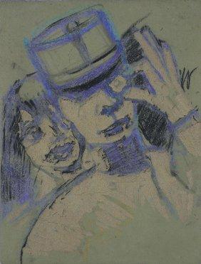 MACCARI MINO (1898 - 1989) - Senza Titolo.