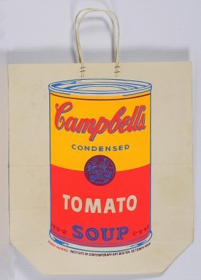WARHOL ANDY (1928 - 1987) - Shopping bag.