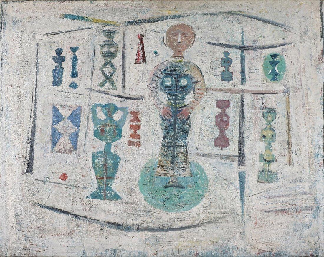 CAMPIGLI MASSIMO (1895 - 1971) - Composizione - figure.