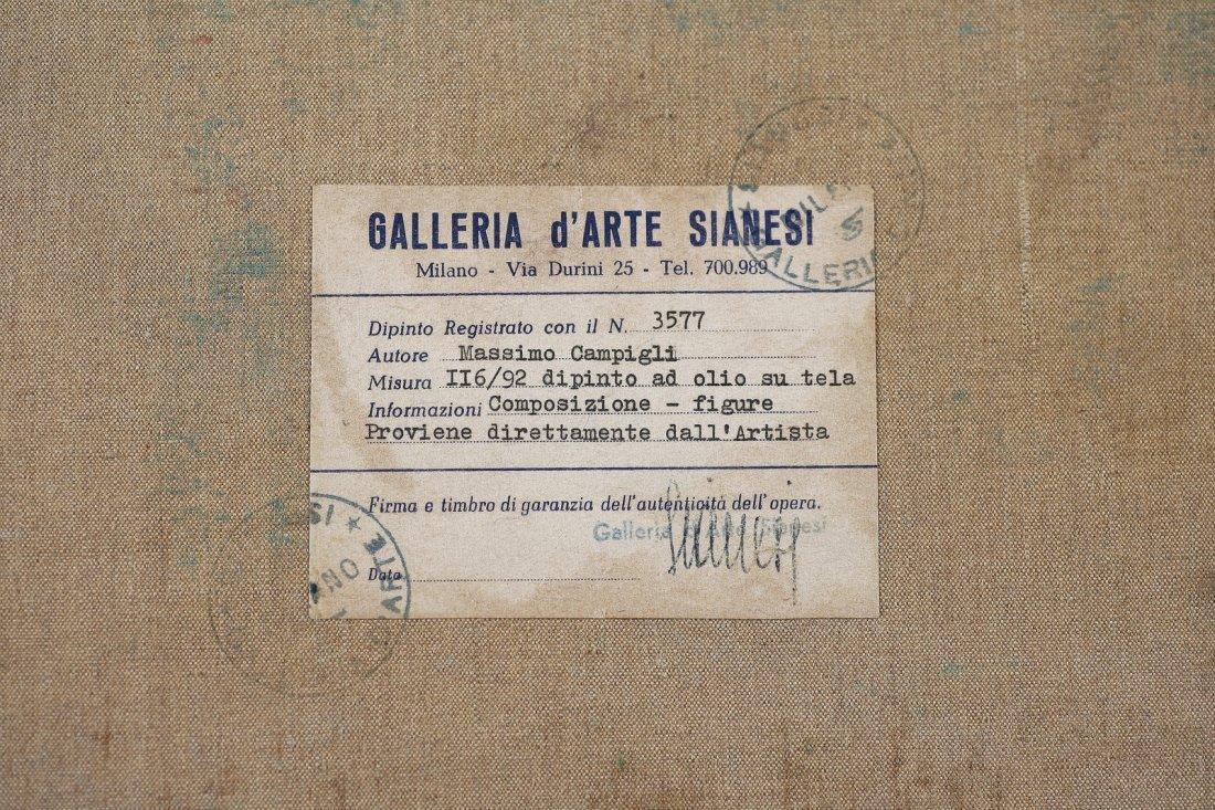 CAMPIGLI MASSIMO (1895 - 1971) - Composizione - figure. - 2