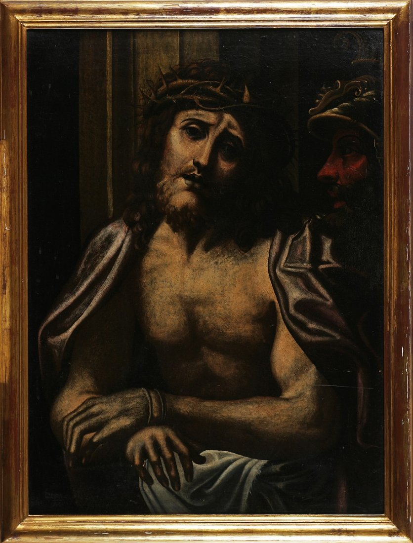 ARTISTA DEL XVIII SECOLO - Ecce homo.