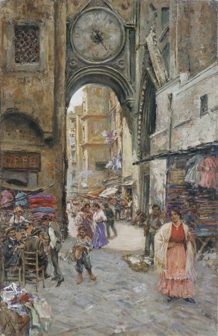 VINCENZO MIGLIARO - Arco di Sant Eligio a Napoli.