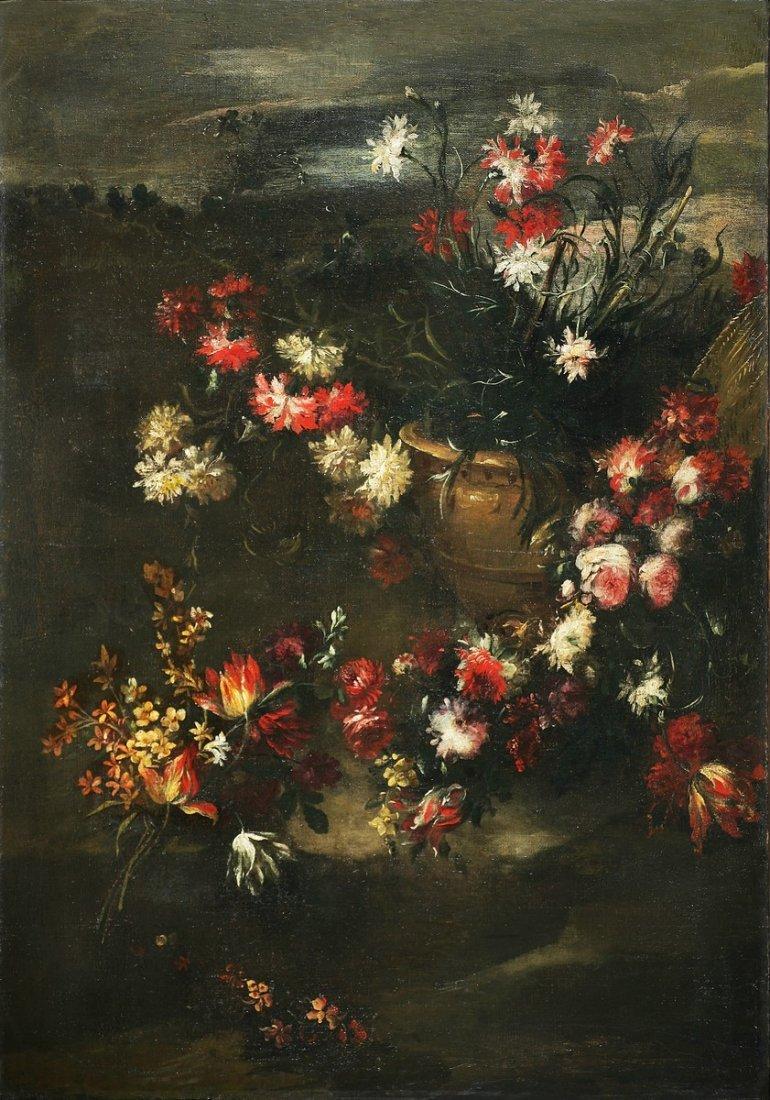 MARGHERITA CAFFI - Natura morta di fiori.
