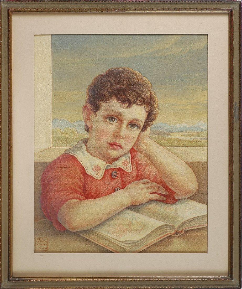 BORIS GEORGIEV - Ritratto di Dante