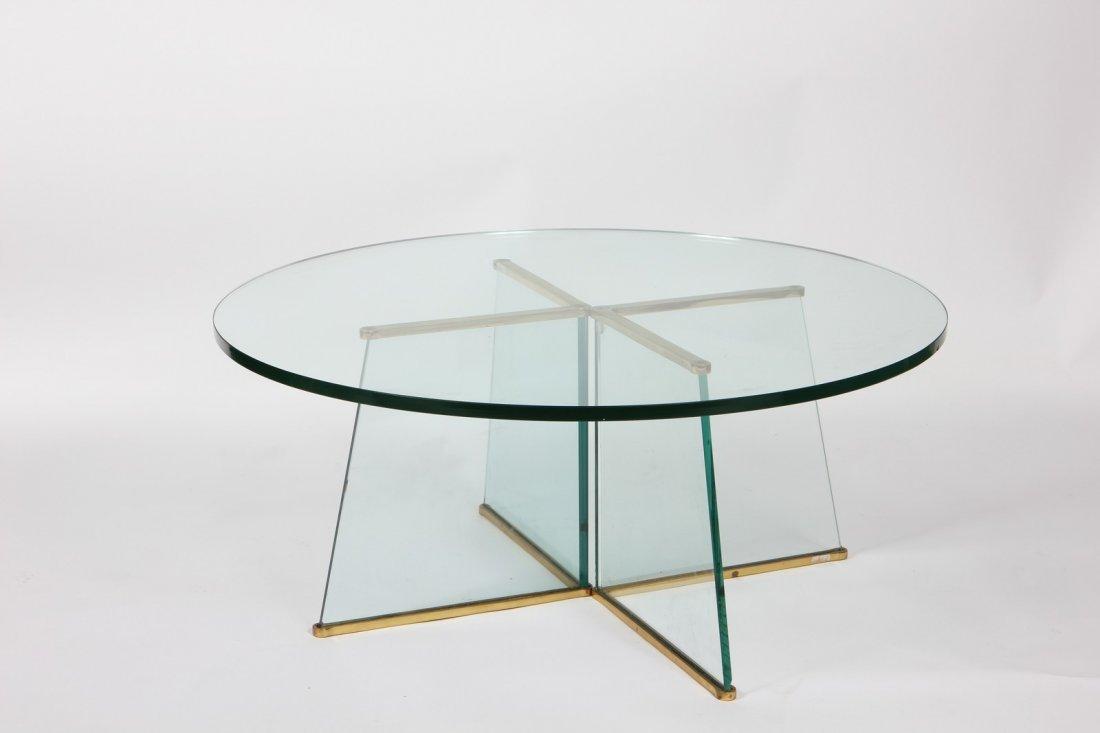 FONTANA ARTE Attribuito a. Tavolino.