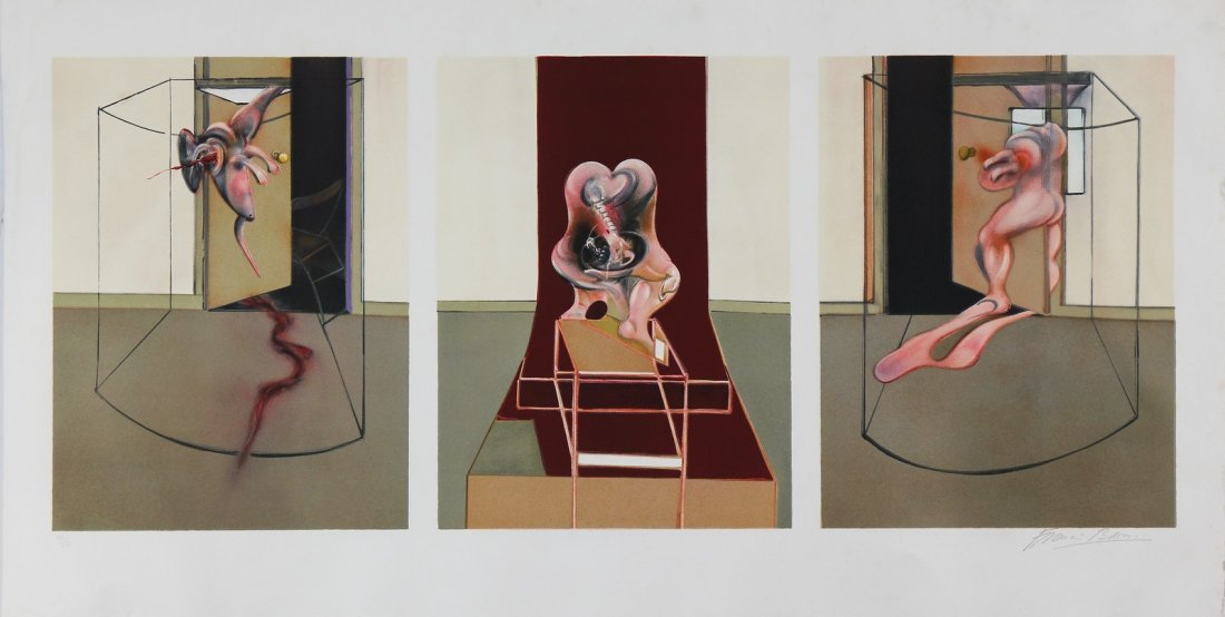FRANCIS BACON Triptych inspired by Orestia of