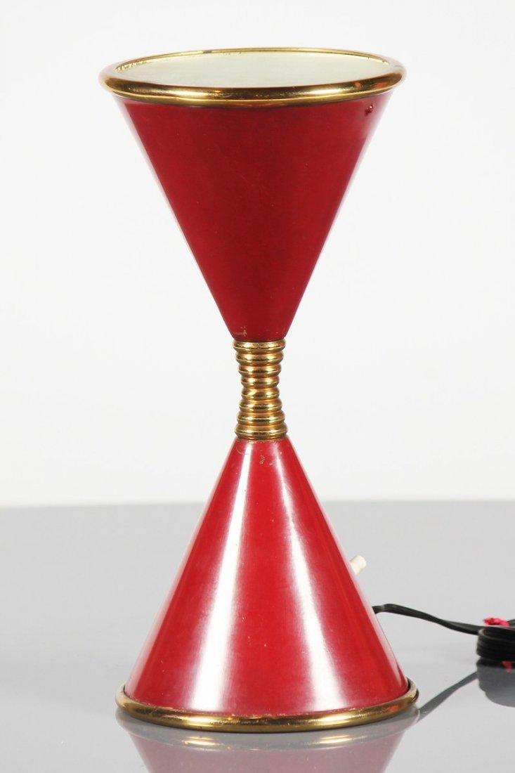 Angelo lelli lampada da tavolo modello clessidra - Clessidra da tavolo ...