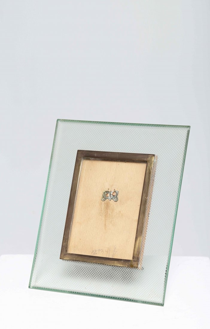 CHIESA PIETRO (1892 - 1948) Photo frame in glass with