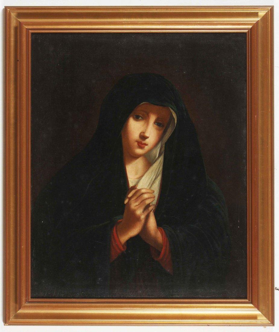 ITALIAN ARTIST XVIII CENTURY  Madonna