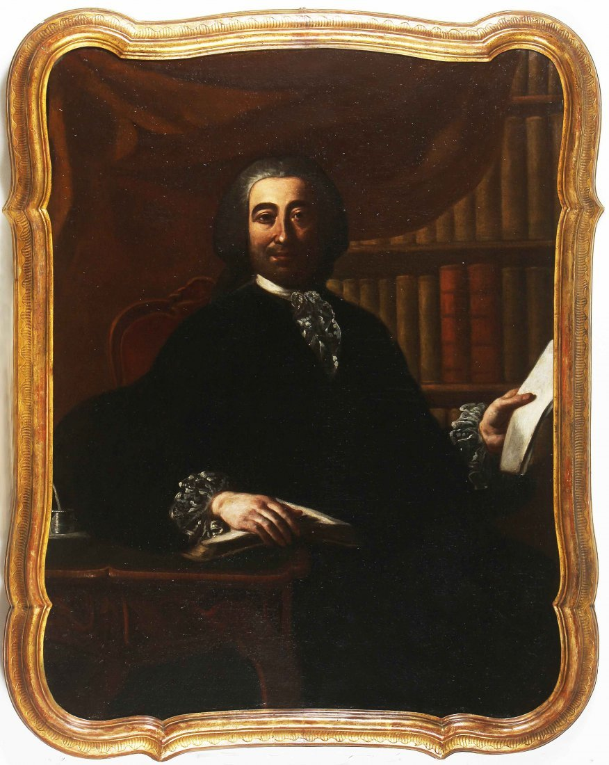 XVIII CENTURY NEAPOLITAN ARTIST Portrait of a gentleman