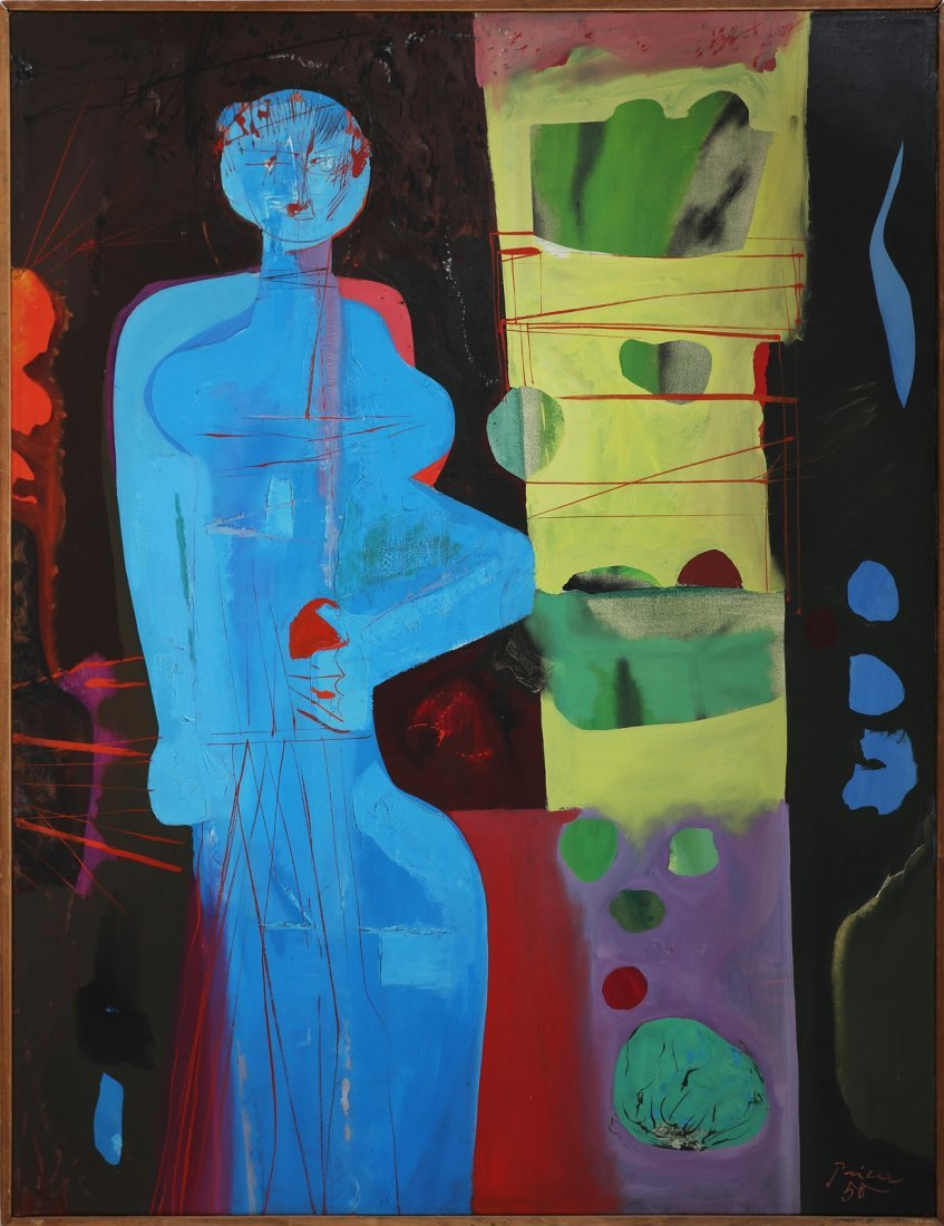 ZLATKO PRICA Woman and fruits.