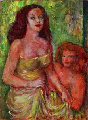 ALIGI SASSU Woman in yellow.