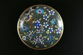 Arte Cinese A Small Cloisonnè Dish China, 19th