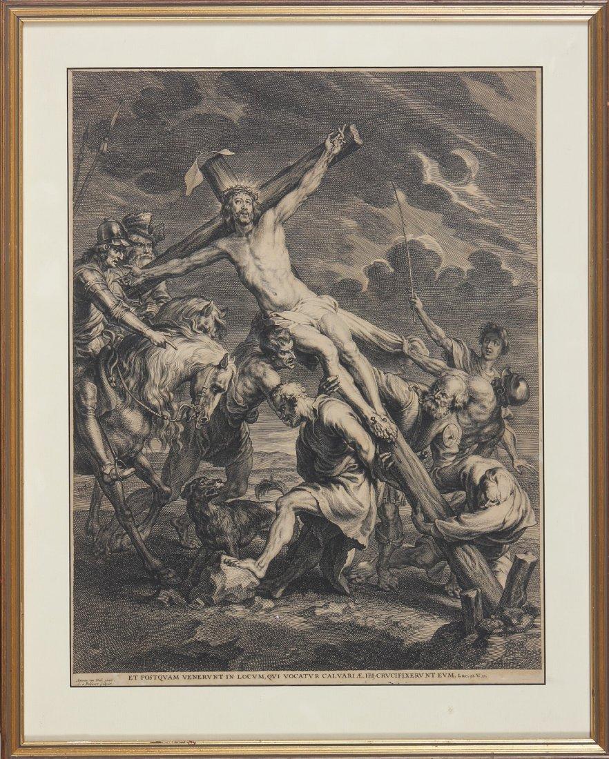 VAN SCHELTE BOLSWERT The rising of the cross.