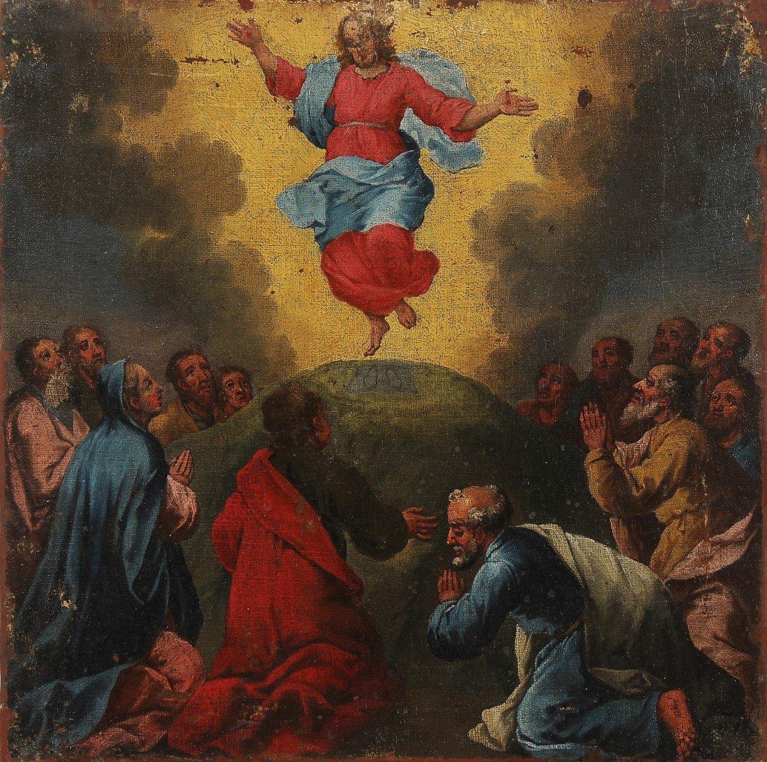 ARTISTA VENETO DEL XVII SECOLO La resurrezione.