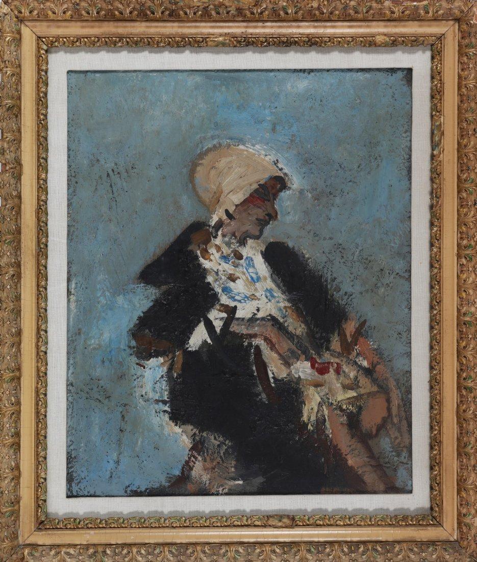 CARLO MATTIOLI Madame Eibischawa portrait.