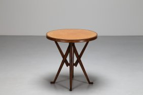 Enrico Ciuti Round Coffee Table Made From The Brief