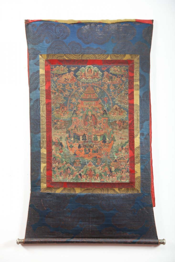 "Arte Himalayana  A tahngka depicting the ""Pure Land"" of"