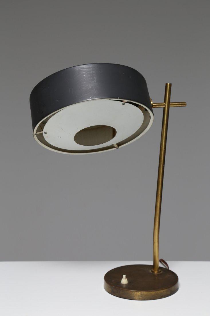 MANIFATTURA ITALIANA  Lampada da tavolo in metallo